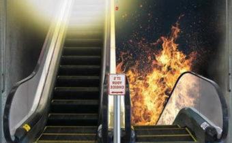 Юмор: политик между раем и адом