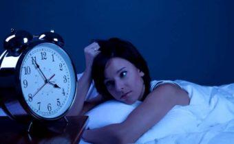 Бессонница каждую ночь в одно и то же время?
