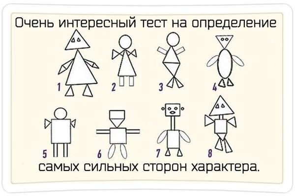 психологический тест по картинкам с людьми