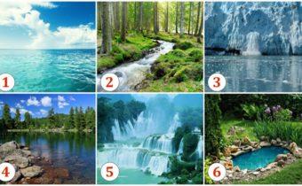 Тест: Выберите водоем, возле которого вы бы хотели очутиться