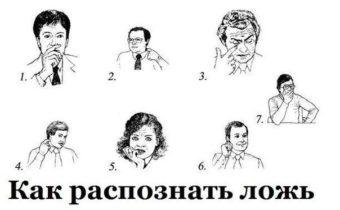 Язык жестов или как научиться читать чужие мысли