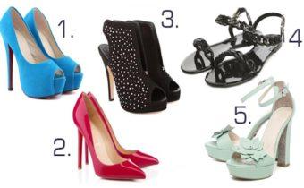 Тест: Выберите понравившиеся туфли и узнайте, в чем вы особенны