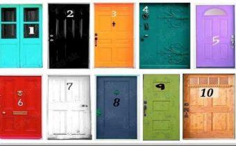 Тест на черты характера: в какую дверь вы бы вошли?