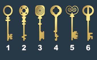 Тест: Выберите ключ, которым вы открыли бы старый сундук