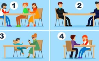За какой столик вы бы не сели?