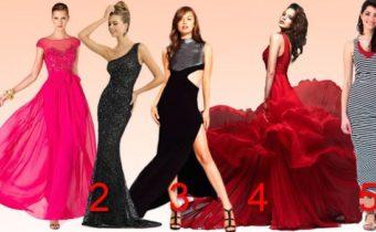 Тест: выберете платье и узнаете о себе нечто необычное