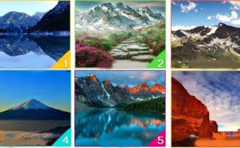 Психологический тест: гора, которую вы выберите, расскажет о том, что скрывается в вашем бессознательном