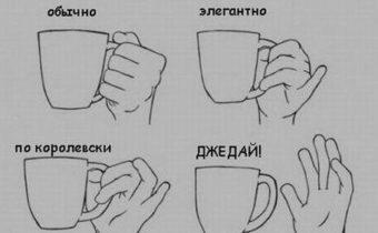 Как пить чай учитывая разные направления искусства