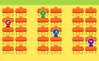 Тест. Как парта и место в классе связано с вашим характером