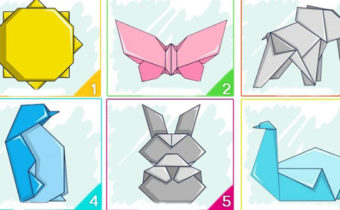 Выберите оригами и получите свое послание