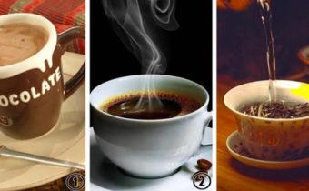 Выберите свой любимый напиток и мы расскажем об уровне вашего внимания и любознательности