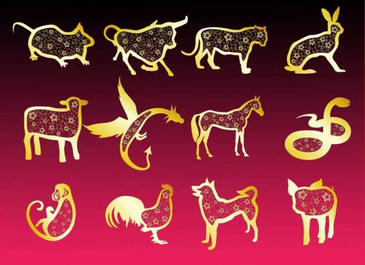 Рисунки гороскопа по годам