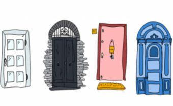 Тест: какую дверь вы бы открыли первой?