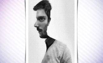 Тест: вы видите лицо мужчины спереди или в профиль?