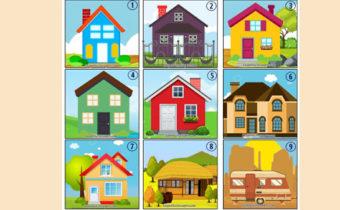 Тест: дом, который вы выберете, расскажет о вас даже больше, чем вы думаете