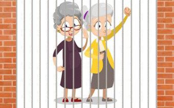 Логическая загадка: как могли эти бабушки сбежать из тюрьмы?
