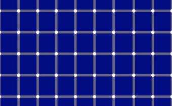 Визуальный тест: где находится черная точка?