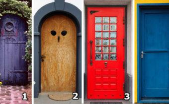 Тест: Какая из этих дверей у вас ассоциируется со счастьем?
