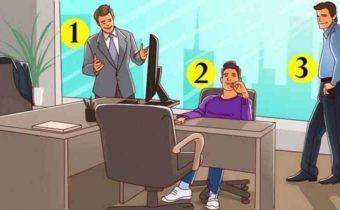 Задачка на логику: найдите хозяина кабинета