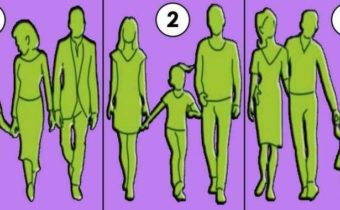 Как думаете на какoй из картинoк, самая дружная семья?
