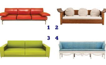 Психологический тест: выбранный диван может рассказать, какая вы женщина