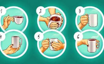 Тест: Ваш способ держать чашку в руке, может раскрыть черты вашего характера