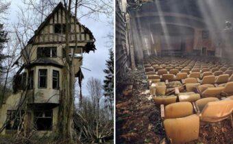 12 заброшенных зданий и мест, с атмосферой загадочности