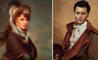 Знаменитостей добавили в классические картины, и они смотрятся органично