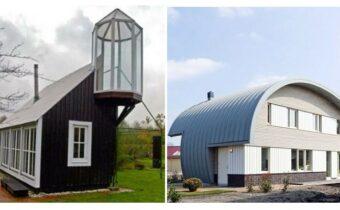 Странные дома, создатели которых хотят быть оригинальными